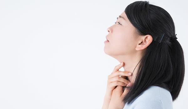 大きな病気以外で発生する喉の痛みの原因