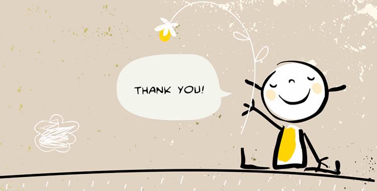 感謝の四字熟語