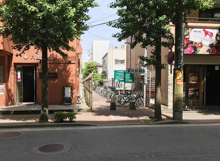 新潟駅南口第1自転車等駐車場