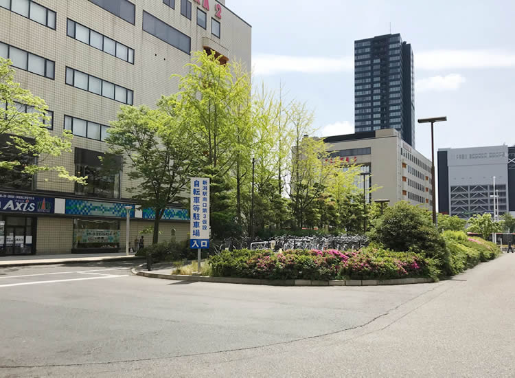 新潟駅南口第3仮設自転車等駐車場