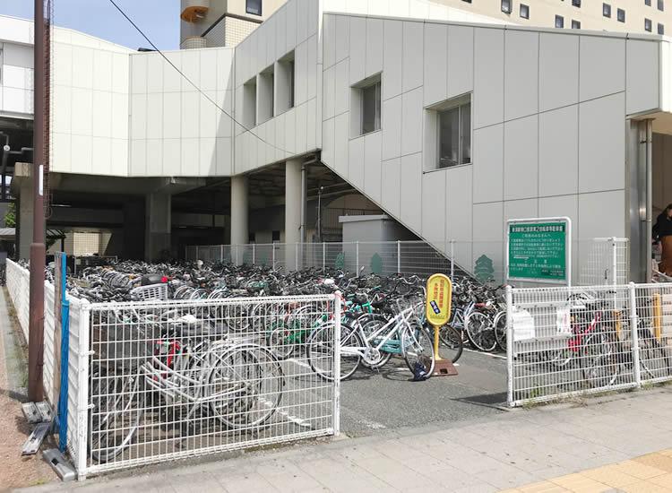 新潟駅南口第2仮設自転車等駐車場